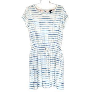 Tommy Hilfiger casual T-shirt dress white striped